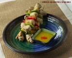 Entree Chicken-Pineapple Kabob